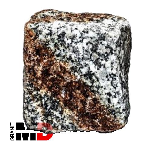 Szaro ruda kostka granitowa