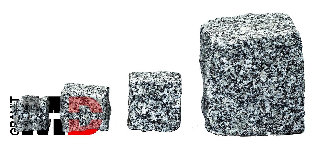 Kostki granitowe