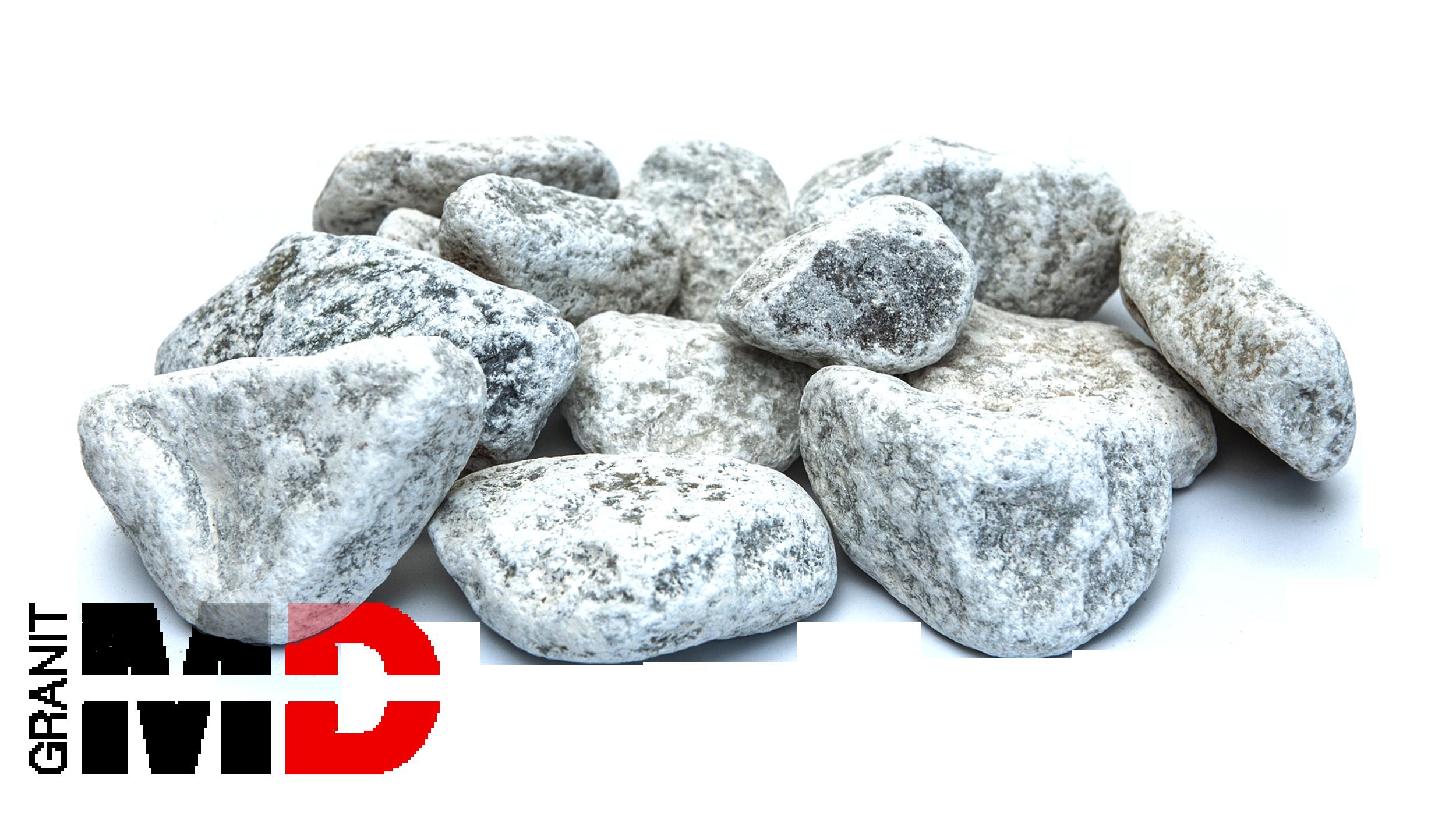 Kamien ogrodowy biały - MD Granit
