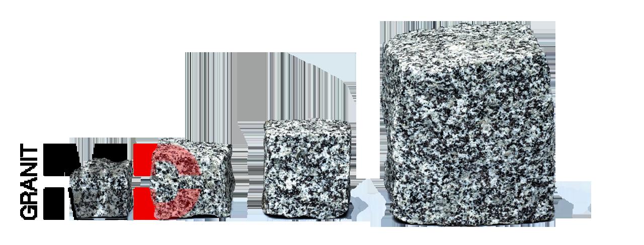 szara kostka granit